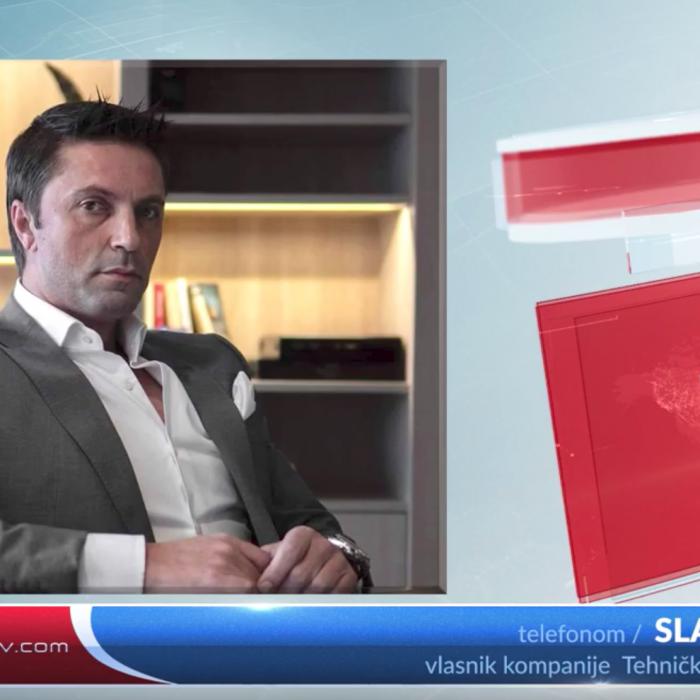 Intervju sa Ristić Slavenom o akciji kupovine respiratora za bijeljinsku bolnicu,